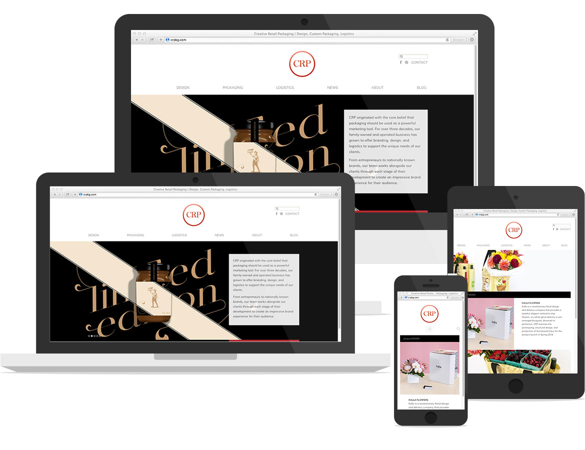 how to develop a retail website